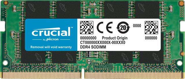 Crucial 32GB DDR4-2666 SODIMM