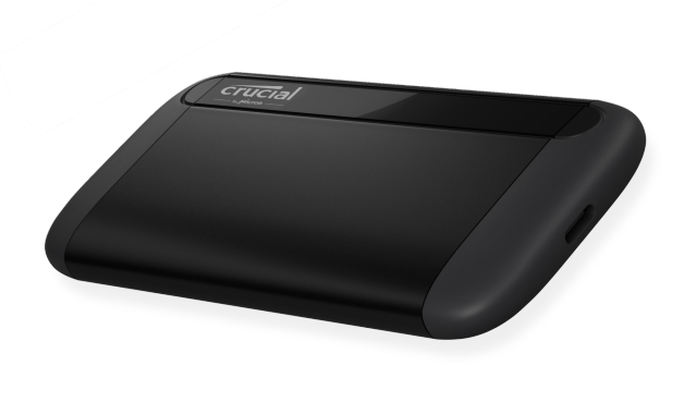 SSD external terbaikCrucial Portable SSD X8