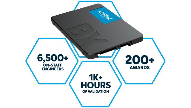 Crucial BX500 SSD | Crucial.com