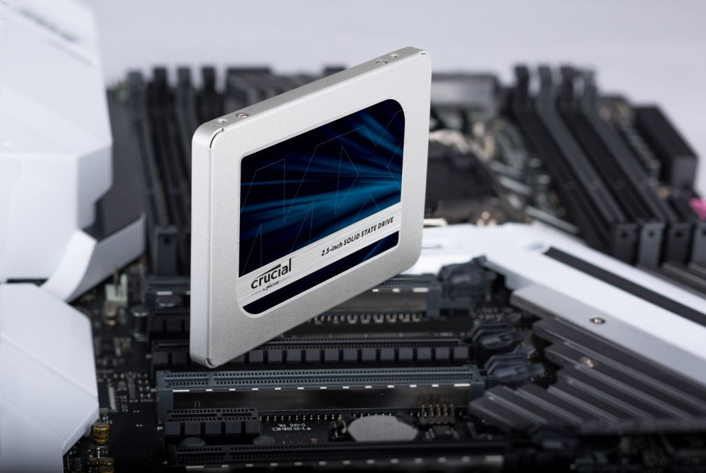 Crucial SSD - Store up to 2TB of data