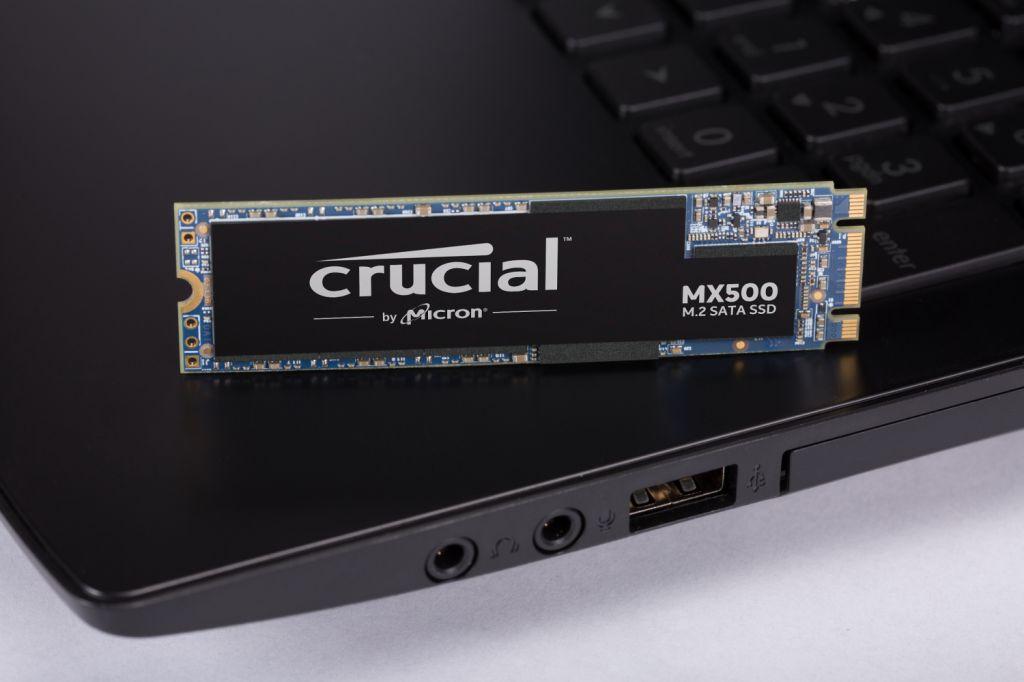 Crucial® MX500 M.2 SATA SSD