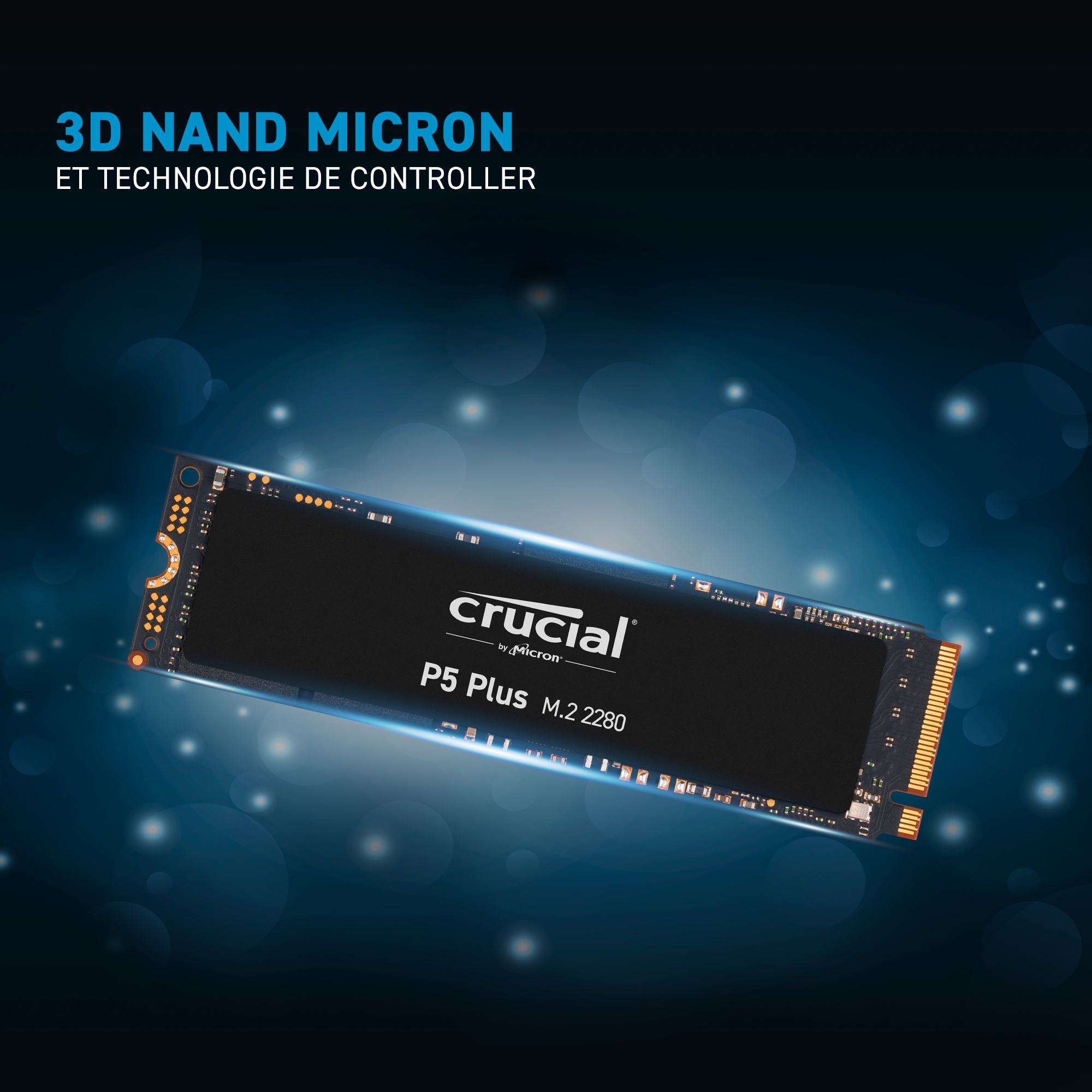 SSD Crucial P5 Plus 500Go M.2 2280SS PCIe- view 6
