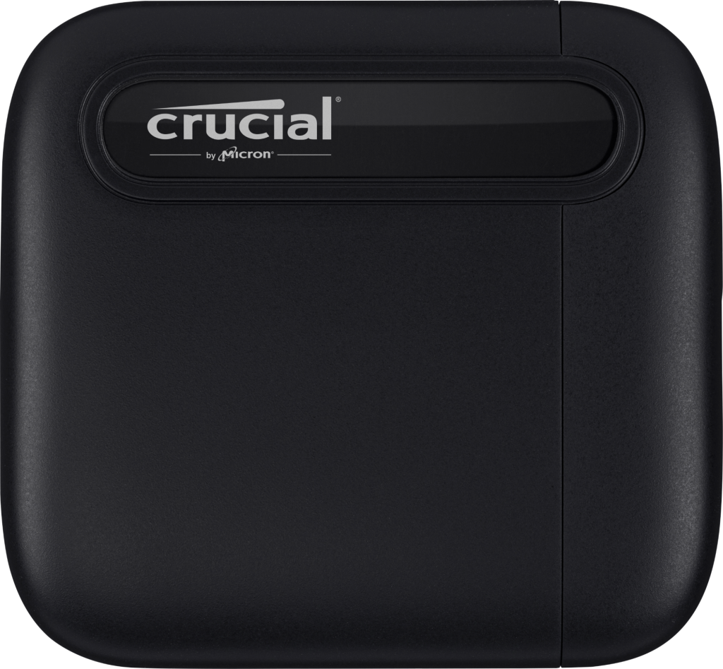 Crucial X6 4TB Portable SSD- view 1